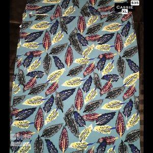 XL LuLaRoe Cassie Skirt